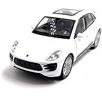 Onlineworld2013 Porsche Macan Turbo SUV Modelo Auto Auto Color al Azar! Escala 1:34