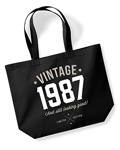 30th Birthday Funny Vintage 1987 Tote Bag