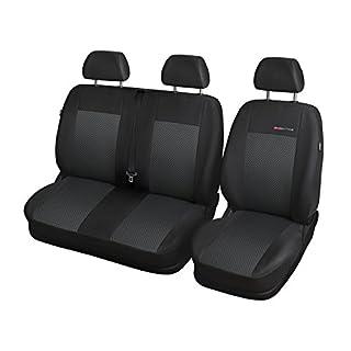 Elegance (E3) (maßgeschneidert) - Autoschonbezug-Set (3-Sitzer) - 5902311275427