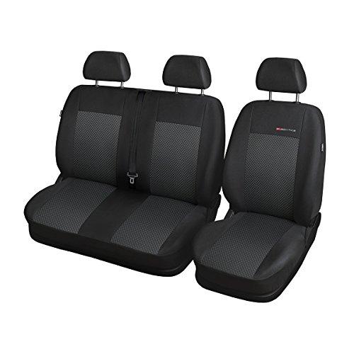 Preisvergleich Produktbild ELEGANCE (E3) (maßgeschneidert) - Autoschonbezug-Set für: VW Volkswagen T-4 BUS (3-Sitzer) - (1994-2003)