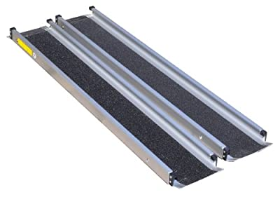 AIDAPT Telescopic Scooter/Wheelchair Channel Ramps. Ideal for use with cars/mini-vans. 5FT Length