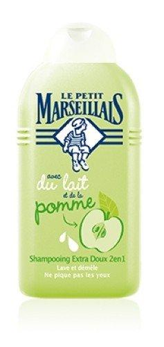Le Petit Marseillais Shampoo mit Milch und Apfel für Kinder 250 ml aus Frankreich - Apfel-milch-shampoo