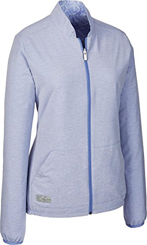 adidas Fashion Wind Golf-Jacke, Damen XS blau -