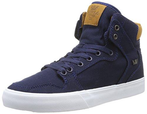 Supra Vaider, Baskets mode homme Bleu (Navy/Brown/White)
