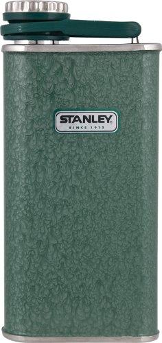 Stanley 8-Unze Klassische Flachmann (Hammerschlag Grün)