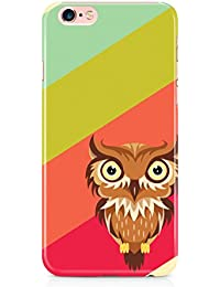 Colorful unique new owl 3D cover case design for iPhone 6, 6s