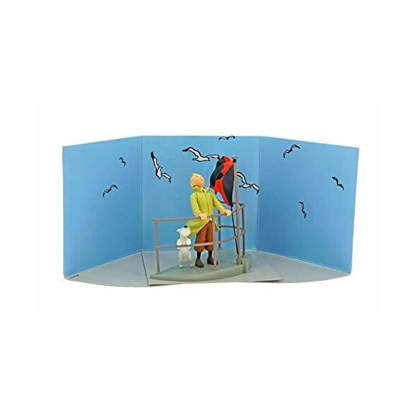 Moulinsart Figura / Cofre de colección Tintín a Bordo del Aurora 43110 (2011) 2