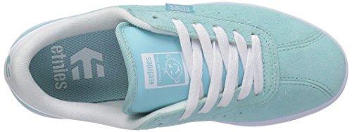 Etnies Damen the Scam W's Sneaker Light Blue