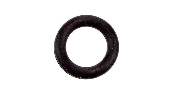 10x O-Ring 6,07x1,78mm Schwarz Silikon Dichtung Innen 6,07mm Au/ßen 9,63mm