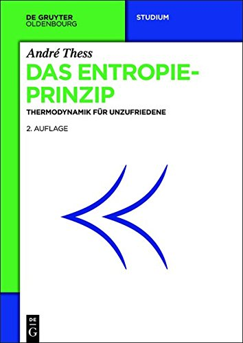 Das Entropieprinzip: Thermodynamik für Unzufriedene