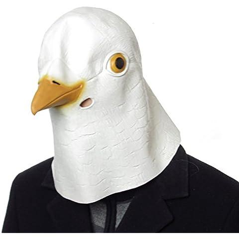 Palmers-Maschera di animale in lattice, a forma di piccione, per