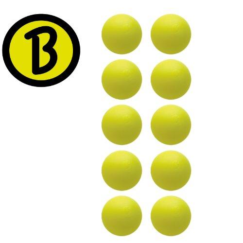 Preisvergleich Produktbild 10 Stück Kickerball original Bärenherz Magic gelb Profi- Turnierqualität