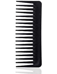 Asin Comb Wide Toeine Peine de plástico Resistente al Calor Gran Ancho Peine de Dientes para Herramienta de Peinado