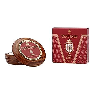 Truefitt and Hill 1805 Luxury Shaving Soap In Wooden Bowl by Truefitt and Hill