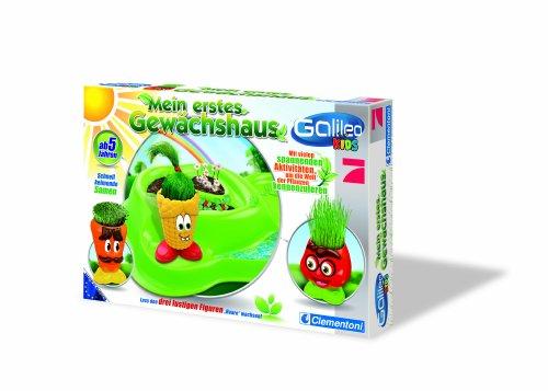 Clementoni 69931.5 - Galileo Kids - Mein erstes Gewächshaus