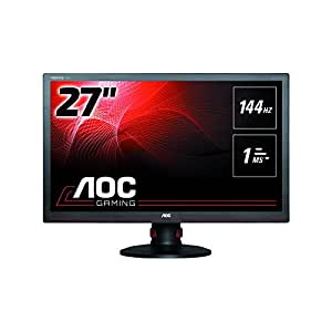 """AOC G2770PF Ecran PC LCD 27"""" 1920 x 1080 1 ms VGA/HDMI/DisplayPort/USB/DVI/D-Sub"""