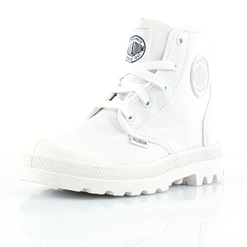 Palladium K Pampa HI Lace null White / White white