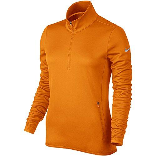 Nike Golf Damen Thermal Half Zip Golf? - Bright Ceramic/Flint Grau - 2XL Half Zip Thermal