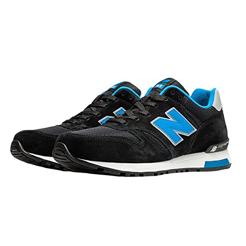 New Balance Ml565 Lifestyle Herren Turnschuhe BLACK/BLUE (945)