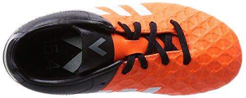 adidas Performance - Ace15.4 Fxg, Scarpe da calcio Bambino Arancione (Orange (Solar Orange/Ftwr White/Core Black))
