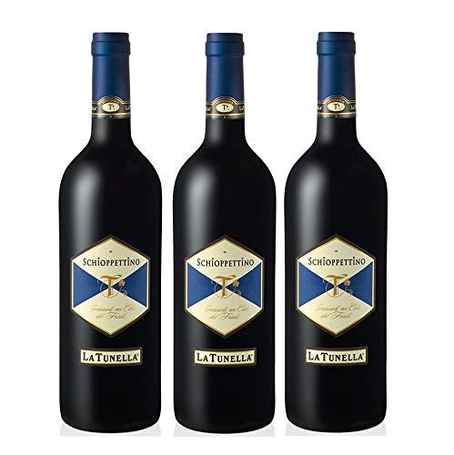 Vino Rosso Schioppettino | 2015 | La Tunella - 3 Bottiglie