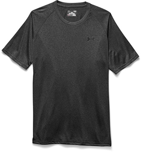 Under Armour Herren Fitness T-Shirt UA Tech Tee Carbon Heather