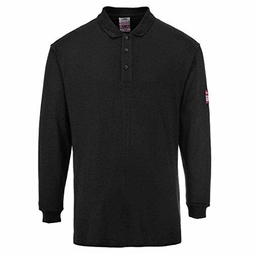 Portwest FR10Shirt FR antistatisch Polo, FR10NARXL schwarz