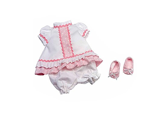 Puppenkleidung Pack (Pink Toys 0110, Mädchen Puppe Anzug, 30–35cm, 1Stück, sortiert)