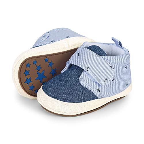 Sterntaler Baby Jungen Schuh Slipper, Blau (Himmel 2301924), 18 EU