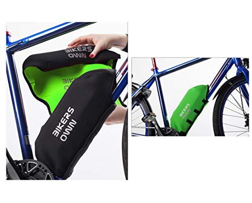 Preisvergleich Produktbild BikersOwn Rahmen-Akkuschutz für Bosch Powerpack 300 / 400 schwarz / grün 2018 Teileschutz