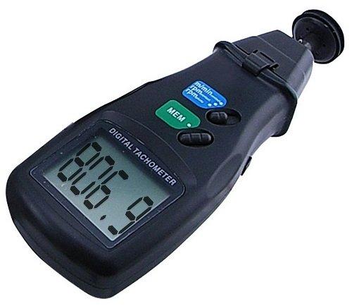 Digitaler optischer Drehzahlmesser Laser Tacho Tachometer Motortester U/min DZ1 (Tacho Rc-car)