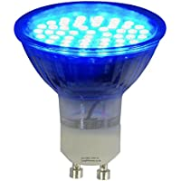 3w BLUE GU10 LED Colour Light Bulb