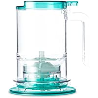 T2 Tea Loose Leaf Teamaker with infuser strainer, Aqua, 500ml