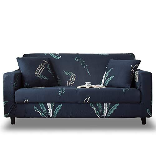 HOTNIU Funda Elástica de Sofá Funda Estampada para sofá Antideslizante Protector Cubierta de Muebles (2 Plazas, Impresión #HC)