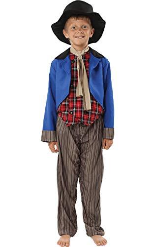 Artful Dodger Kostüm Oliver Twist Fasching Verkleidung Kinder (Artful Dodger Fancy Dress Kostüm)