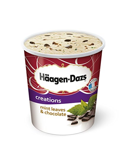 Häagen-Dazs - Mint Leaves and Chocolate Eiscreme Speiseeis Eis - 500ml (Cookie-eis)