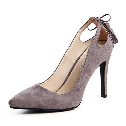 topschuhe24, Scarpe col tacco donna Grigio (grigio)