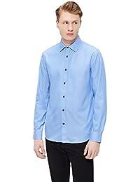 Matinique Trostol Langarmhemd, Herren, Medium, Blau