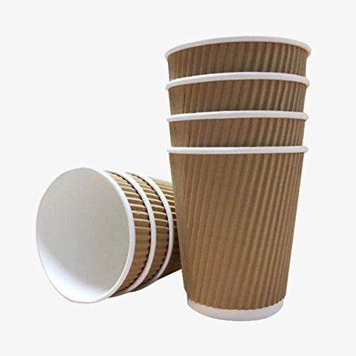 100-x-8oz-240ml-kraft-triple-walled-disposable-paper-ripple-cups