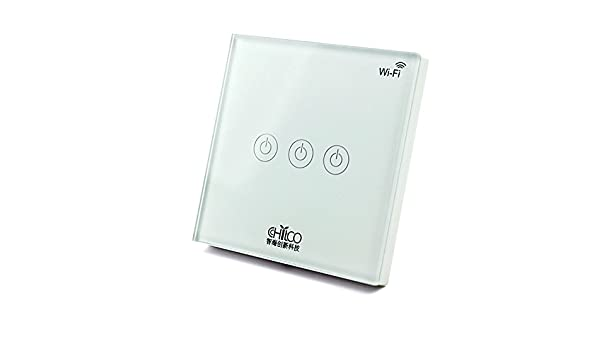 Wifi smart applique murale commutateur périphérique sans fil