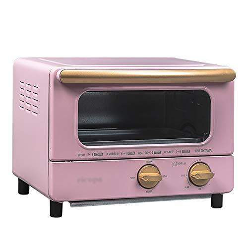 HARDY-YI Mini-Ofen - Elektroofen Multifunktions-Haushaltsofen Mini-kleiner Ofen Hochleistungsbackofen -Ofens (Farbe : Rosa) (Rosa Ofen Toaster)