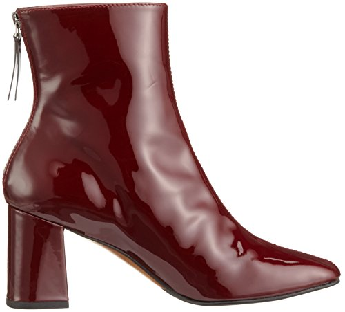 Paco Gil P3085, Bottines à doublure froide femme Rouge - Rot (Wine)
