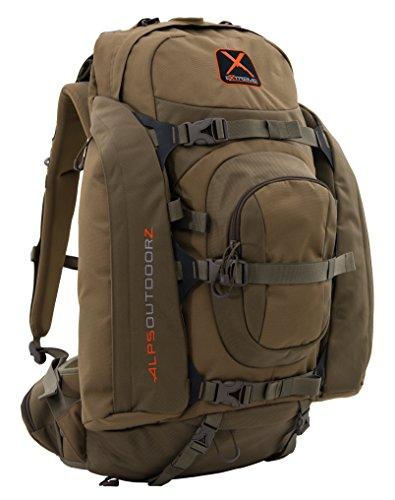 alpen OutdoorZ 9993110Extreme Traverse X Jagd Pack (gebürstet Realtree Xtra HD), Herren, Coyote Brown (Pack Traverse)