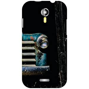 Via flowers Vintage Matte Finish Matte Finish Phone Cover For Micromax A117