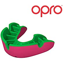 OPRO Mundschutz Silver - Zahnschutz für Handball, Karate, Rugby, Hockey, Boxen, Lacrosse, American Football, Basketball - selbst anformbar - im UK entworfen & hergestellt