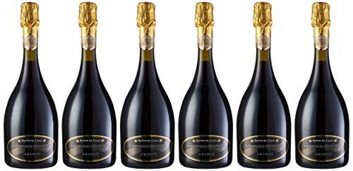 Maestri Del Casale Lambrusco Galla Tinto - Paquete de 6 botellas de 75 - Total 450 cl