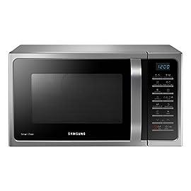 Samsung MC28H5015AS Forno Microonde Grill Combinato, 28 Litri, SmartOven, 900 W, Grill 1500 W, 51.7 x 31 x 47.6 cm…