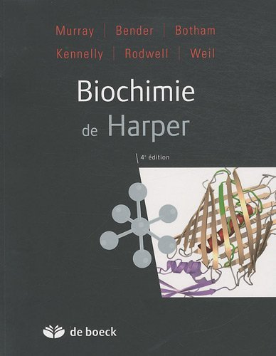 Biochimie harper by Collectif (January 14,2011) par Collectif