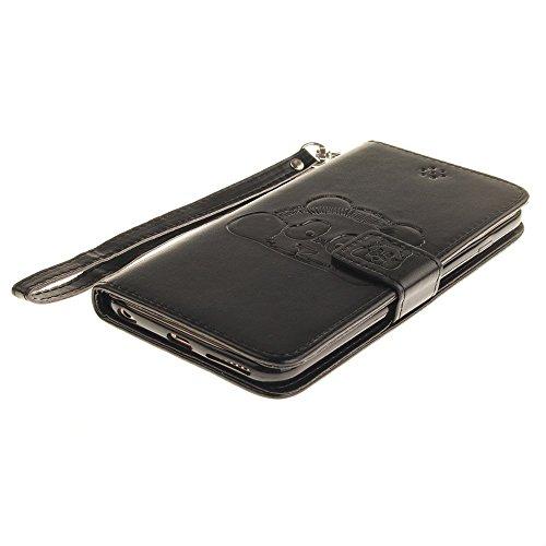 JIALUN-étui pour téléphone Avec slot pour carte, Lanyard, Pressure Beautiful Pattern Fashion Open Cell Phone Shell pour IPhone 6S ( Color : 10 , Size : IPhone 6 6S ) 6