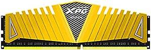 ADATA 4GB DDR4-3200MHz XPG Z1 4Go DDR4 3200MHz Module de mémoire - Modules de mémoire (4 Go, 1 x 4 Go, DDR4, 3200 MHz, 240-pin DIMM, Jaune)